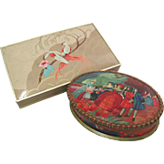 SALE French Chocolate Boxes or Confiserie Boxes. 1920s/30s. One marked Marquise de Sevigne, ..
