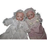 A.M. Tiny Twin Dream Babies 8""