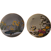 6 VERY NICE PORCELAIN JAPANESE PLATES