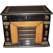 Napoleon III Table Box  fireplace figural