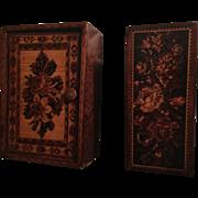 Two Small English Tunbridge Boxes