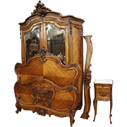 Antique French Louis XV 3pc Bedroom set