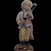 Hochst Turkish Orchestra Musician Figure. Bassoon Player