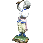 Hochst Turkish Orchestra Musician Figurine. Sultan Horn Player.