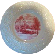 SOLD Smith College Wedgwood Dinner Plate - Observatory