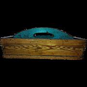 SALE 19th Century Henry Lapp Grain Painted Knife Box
