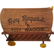 SALE 1950s Vintage Large Roy Rodgers Toy Wagon.