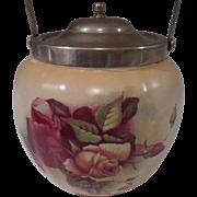 English Biscuit Barrel/ Cracker Jar