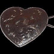 Beautiful Handcrafted Sterling Silver Heart Barrett