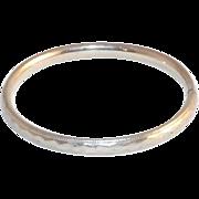 Kiddie Kraft Child's White Gold Plate Bracelet