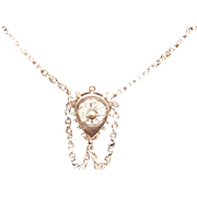 Beautiful Victorian Gold Filled Necklace