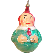 Wonderful Vintage Elf Christmas Ornament