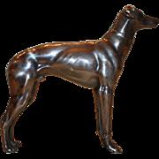 Detailed Greyhound Statue