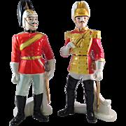 Vintage Shafford Japan Imperial Soldier Figurines