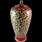 Vintage Made in Occupied Japan Porcelain Crane Vase