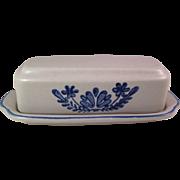 Vintage Pfaltzgraff Yorktowne 1/4 Lb. Stick Butter Dish U.S.A.