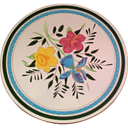 """Vintage Stangl Country Garden 10"""" Plate Made in USA"""