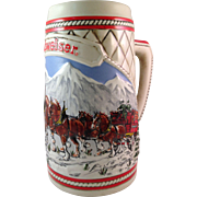 Vintage Budweiser Limited Edition 1985 Clydesdale Stein