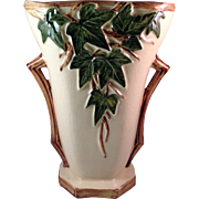 Vintage McCoy Pottery Ivy Vase