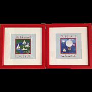"Carol Dyer ""A Child's Voyage"" Summer Collection Framed Prints"