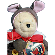 SALE Muffy Bear dressed as 'Muffy Mouse', original design of North American Bear Co, limited .