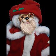"SALE Robert Raikes Santa 12"" 1990 Bear Christmas Collection, Limited edition 1939 of 10,0"