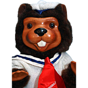 """SALE Sam Beaver 15"""" 1988 Timber Creek Collection signed by Robert Raikes Limited edition"""
