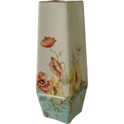 China Vase Hand Painted with Flowers