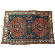 SOLD Antique Tribal Kazak Rug Circa 1890's