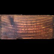 Antique Wooden Jello Crate