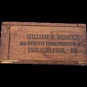 Optical Ophthalmologist Phila Box Glasses William Reimold