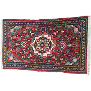 SALE Hand Knotted Persian Hamadan Rug