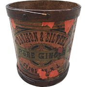 General Store Display Barrel Pure Ginger Spice