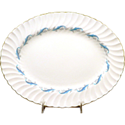 "MINTON DOWNING S665 Oval Platter 15 1/2"" x 12"""