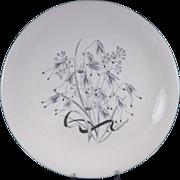 "WEDGWOOD WILD OATS W4166 Round Serving Platter / Chop Plate 13 1/4"""