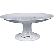 WEDGWOOD WILD OATS W4166 Footed Compote / Dessert Stand