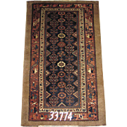 Persian Handmade Hamadan Rug Approx. 6'-2X3'-8