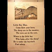 Little Boy Blue & Little Bo Peep Classroom Chart