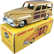 Dinky 344 Woody Station Wagon, Mint in Original Box