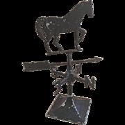 REDUCED Miniature Horse Weathervane