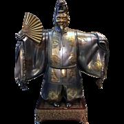 Japanese Bronze Noh Dancer