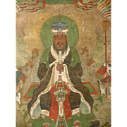 Ming Dynasty Buddhist Chinese Painting 16th C.
