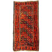 SOLD Fine Late 19th C. Baluch Scatter Rug