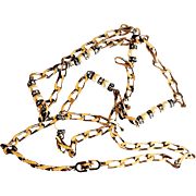 REDUCED Christian Dior (By Grosse) Sautoir With Faux Pearls And Crystals