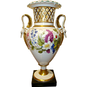 Antique English Ridgway Porcelain Vase