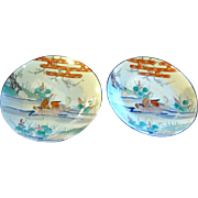 A Very Fine PAIR of Japanese Imari Chargers