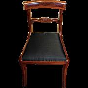 Set of Six Mahogany Side Chairs, c. 1820