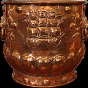 Copper & Brass Jardinere