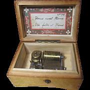 SALE Beautiful Antique Doll Size Thorens Music Box