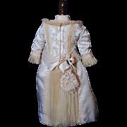 SALE Elegant Silk Fashion Doll Dress